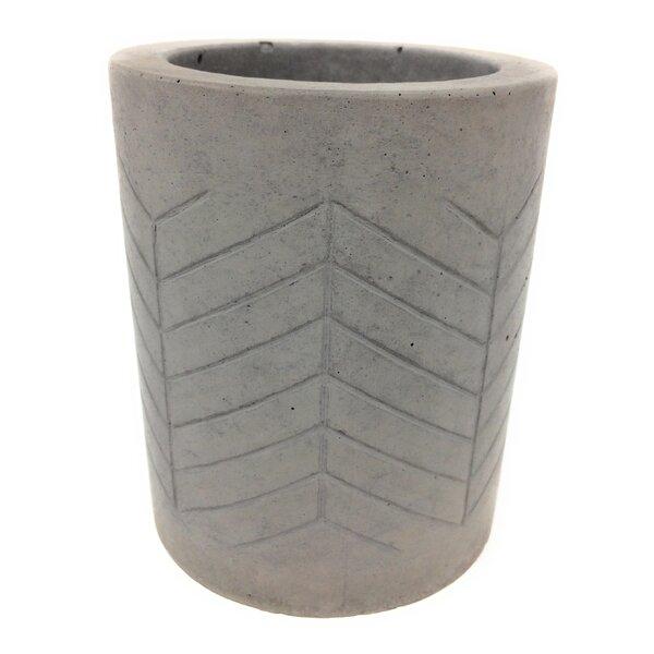 Haskett Concrete Pot Planter by Bungalow Rose