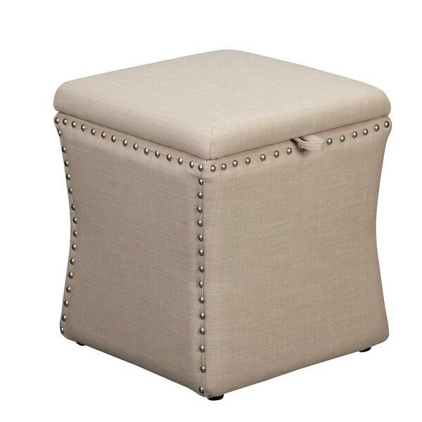 Weon Upholstered Storage Ottoman By Rosdorf Park 2019 Online