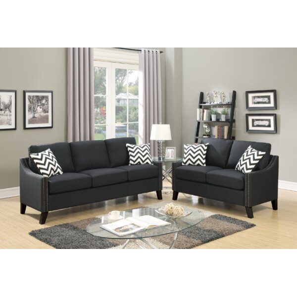 Venne 2 Piece Living Room Set By Latitude Run Today Only Sale