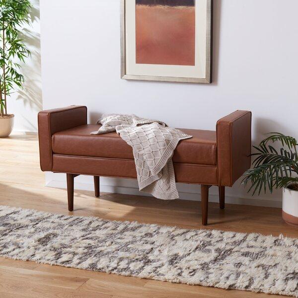 Borden Faux Leather Bench By Corrigan Studio®