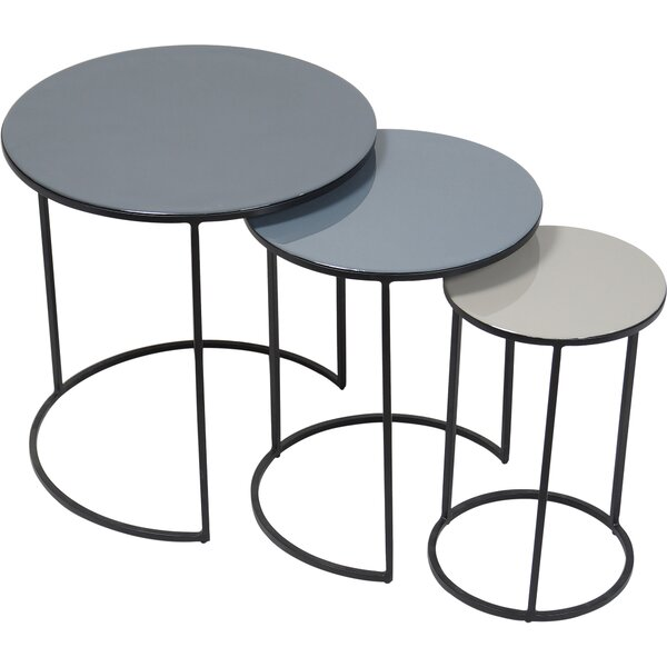 Moniz 3 Piece Nesting Tables by Latitude Run