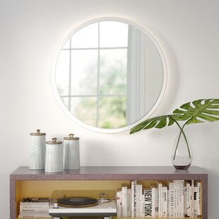 Inexpensive Electric Bathroom/Vanity Mirror By Wade Logan