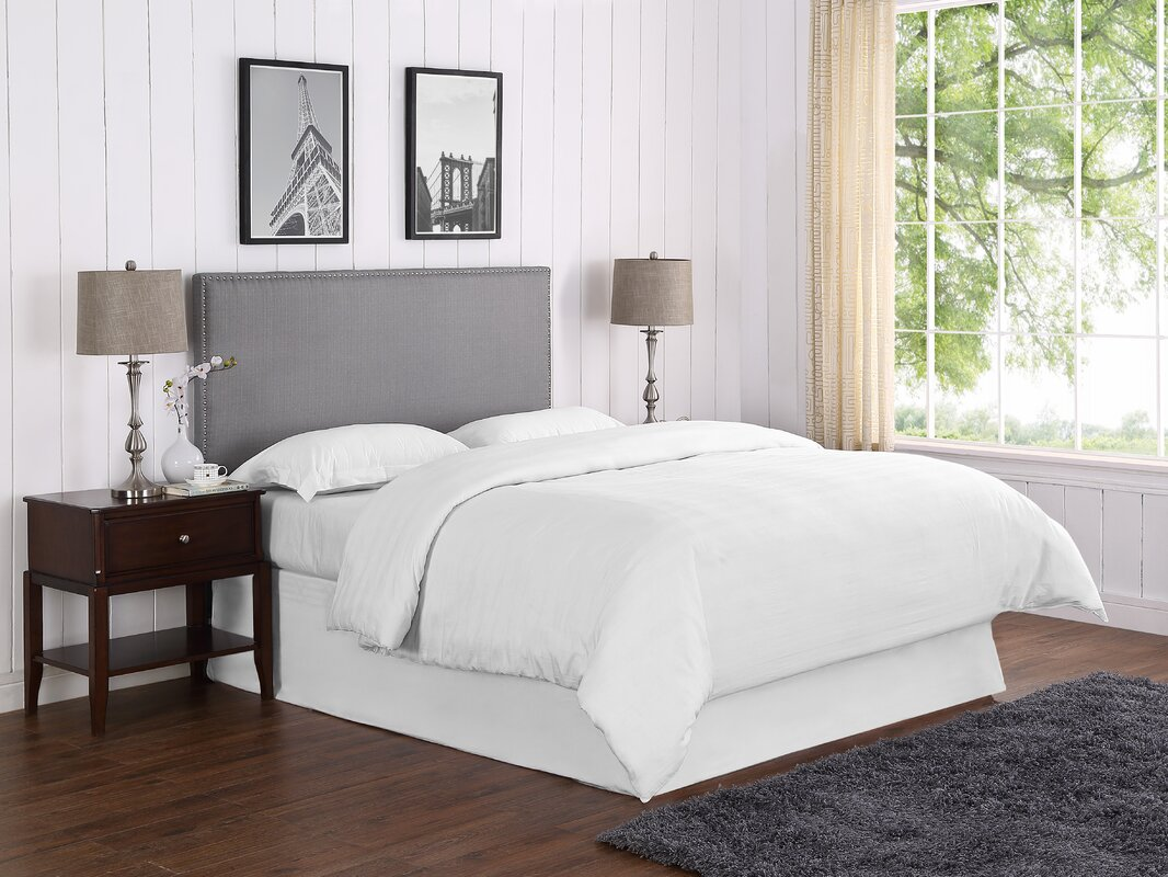 Wayfair Headboard White Headboard Wayfair Headboard And: Zipcode Design Mannion Upholstered Panel Headboard