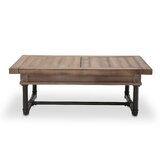 Crossings Abstract Coffee Table with Storage by 17 Stories