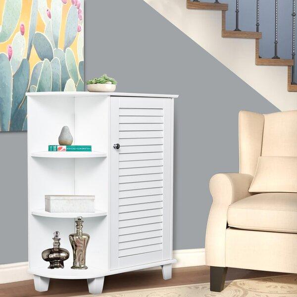 Steller 26'' W x 6'' H x 19'' D Free-Standing Bathroom Cabinet