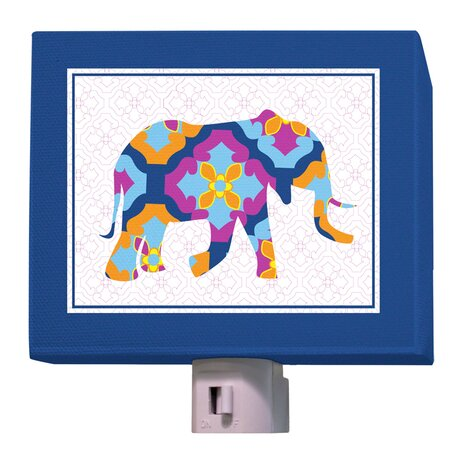 A to Z Animal Prints Elephant Night Light by Oopsy Daisy