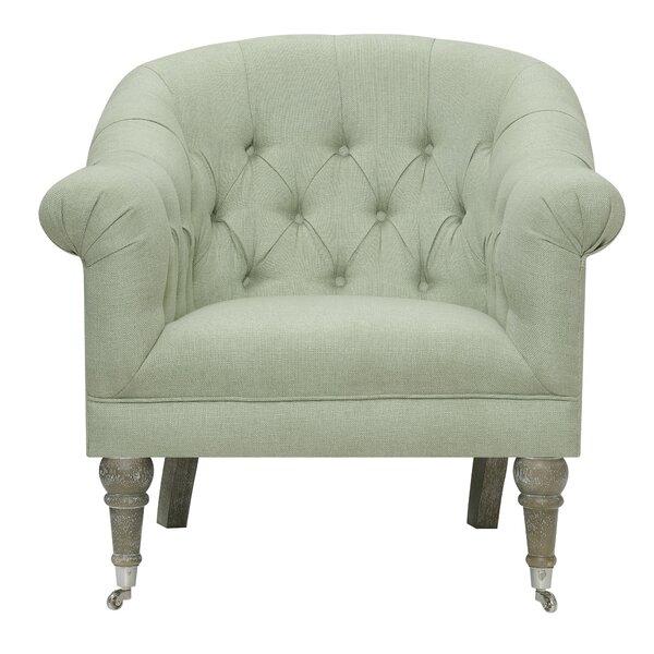 Danielle Barrel Chair by Ophelia & Co.