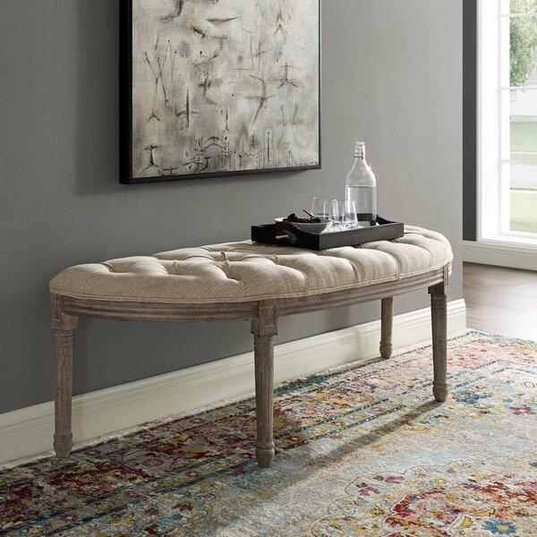 Ryley Upholstered Bench by Ophelia & Co.