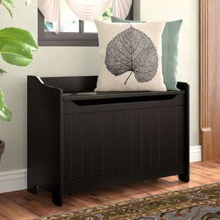 Cora Wood Storage Bench