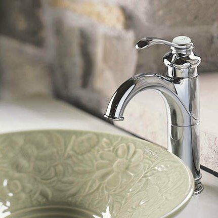 Fairfax Single hole Bathroom Faucet with Drain Assembly by Kohler