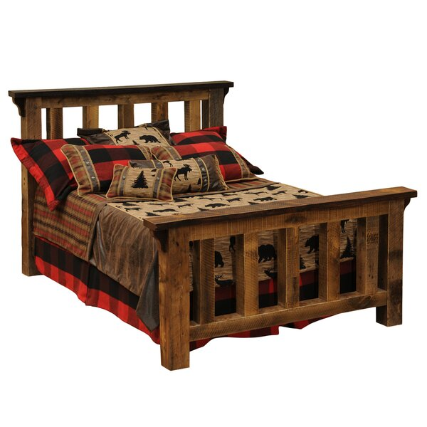 Barnwood Standard Bed by Fireside Lodge