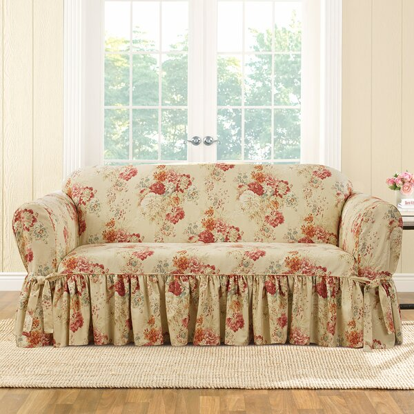 Ballad Box Cushion Sofa Slipcover by Sure Fit