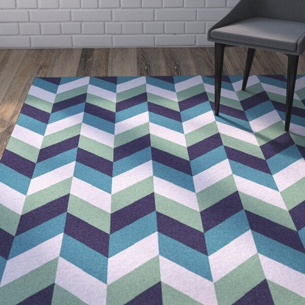 Crisman Rectangle Multi Rug by Wrought Studio