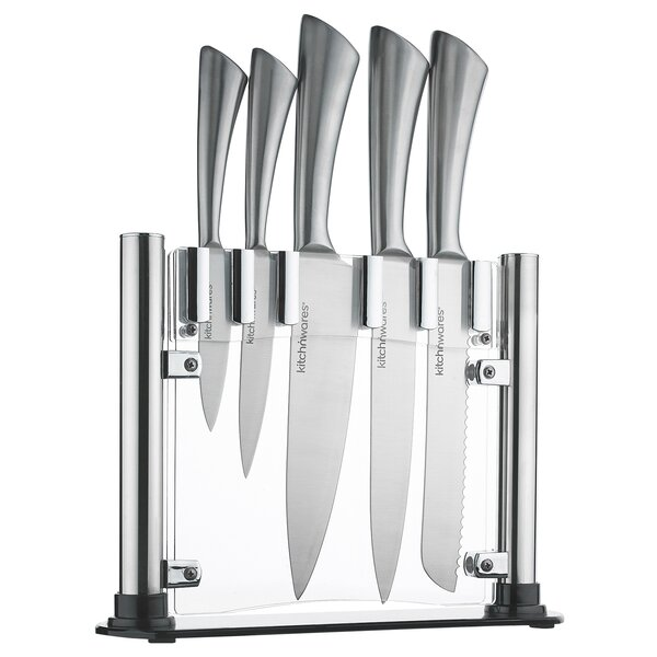 6 Piece Knife Set by Kitch N' Wares