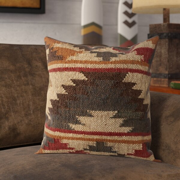 Imran Tribal Throw Pillow by Loon Peak