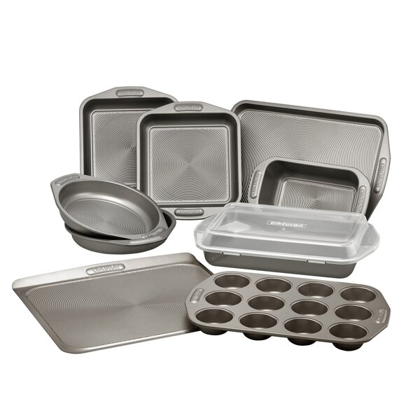 Circulon Total 10 Piece Non-Stick Bakeware Set by Circulon