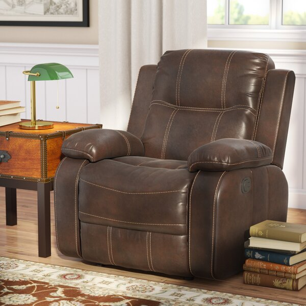 Haines Manual Recliner by Alcott Hill