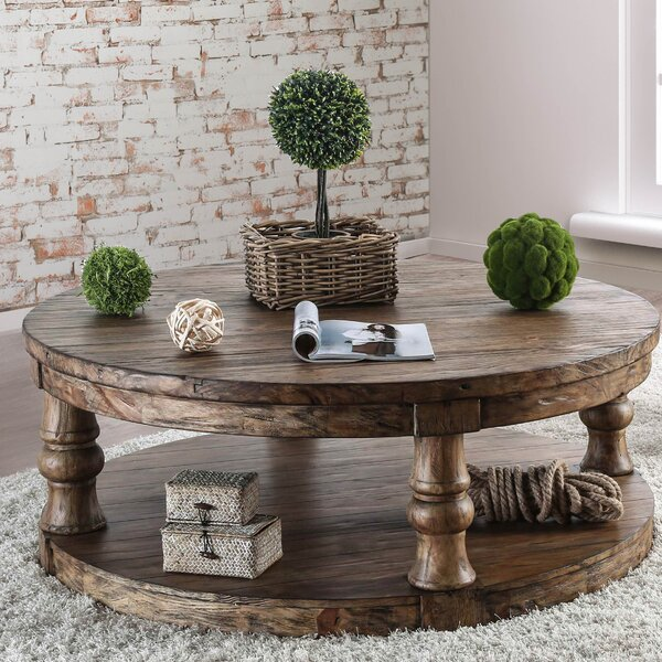 Amstel Farmhouse Coffee Table by Gracie Oaks