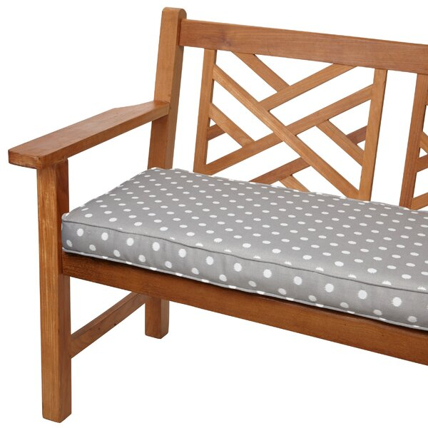 Soft Indoor/Outdoor Bench Cushion by Latitude Run