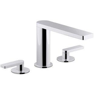 Composed? Widespread Bathroom Faucet by Kohler