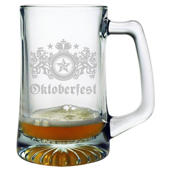 Oktoberfest Jumbo 25 oz. Beer Mug by Susquehanna Glass