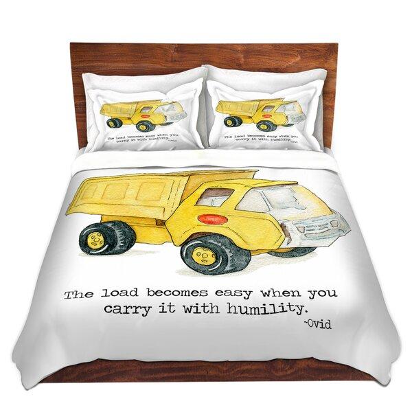 Toys Dump Truck Duvet Cover Set