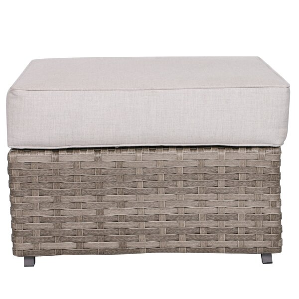 Kaiser Square Ottoman with Cushion by Brayden Studio