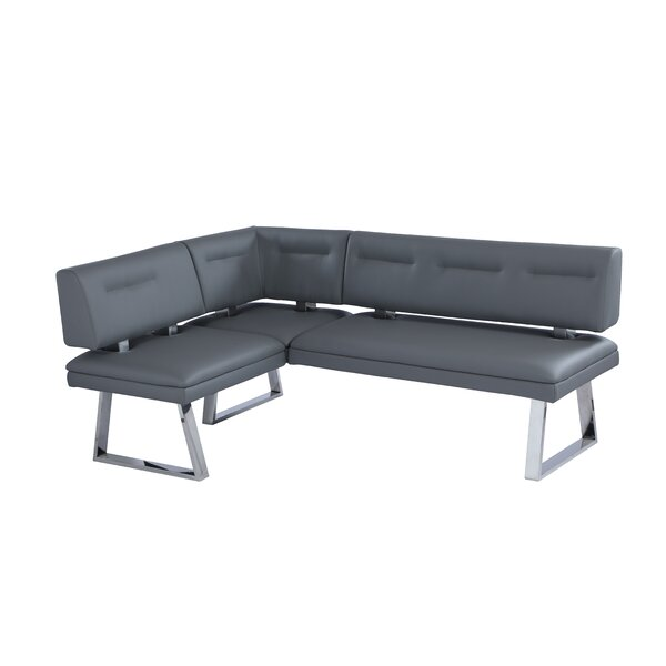 Rachel Faux Leather Bench by Orren Ellis Orren Ellis