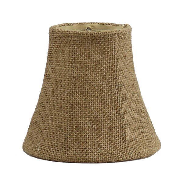 5 Burlap Bell Candelabra Shade by Bay Isle Home