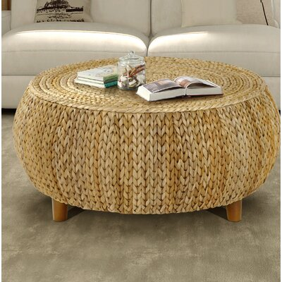 Arboleda Coffee Table Color: Natural by Beachcrest Home