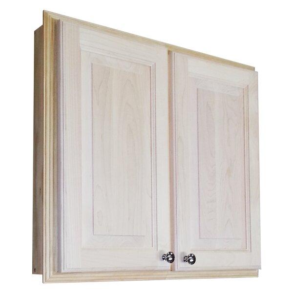 Baldwin 29.5 W x 25.5 H Recessed Cabinet by WG Wood Products