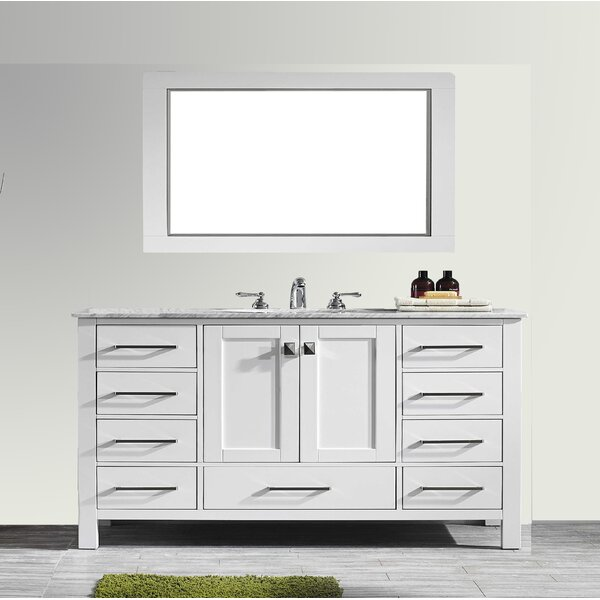 Pichardo 60 Single Bathroom Vanity Set by Brayden Studio