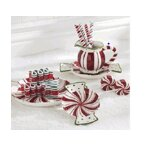 Peppermint Candy Dish by Wildon Home ®