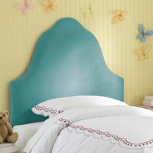Affordable Microsuede High Arch Headboard BySkyline Furniture