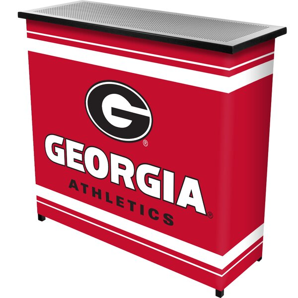 University of Georgia Portable Home Bar by Trademark Global