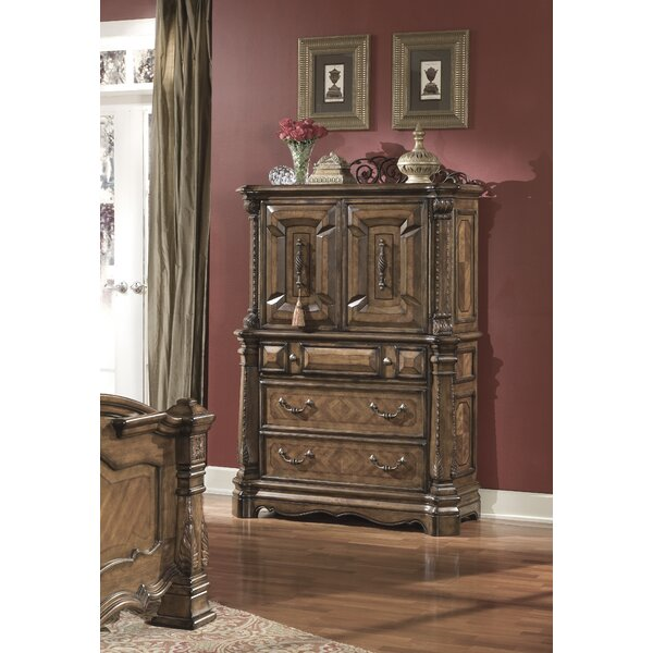 Windsor Court 3 Drawer Gentleman's Chest by Michael Amini