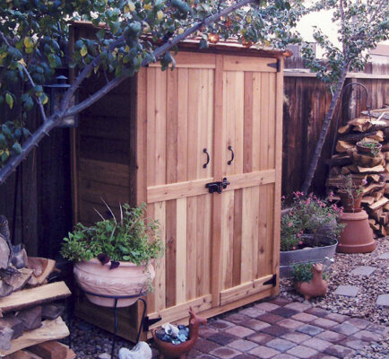 D Wooden Lean To Tool Shed. By Outdoor Living Today