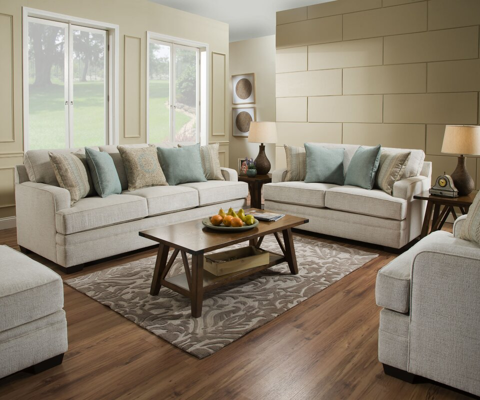 Hattiesburg Configurable Living Room Set by Simmons Upholstery Three Posts