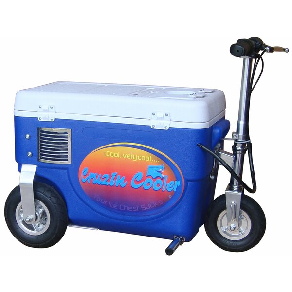 30 Qt. 300W Scooter Electric Cooler by Big Toys
