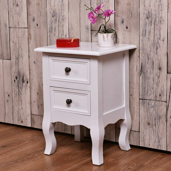 Sease End Table with Storage by Canora Grey