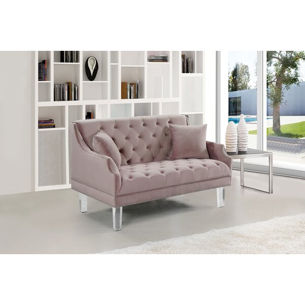 Top Design Jonathon Loveseat by Rosdorf Park by Rosdorf Park