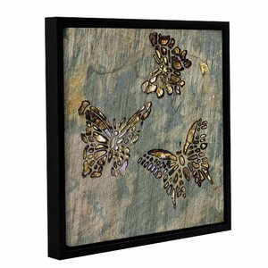 'Butterflies' Framed Wall Art by Bloomsbury Market