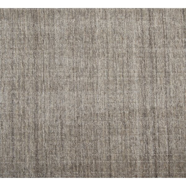 Cumberland Hand-Woven Wool Fossil Area Rug by Foundry Select