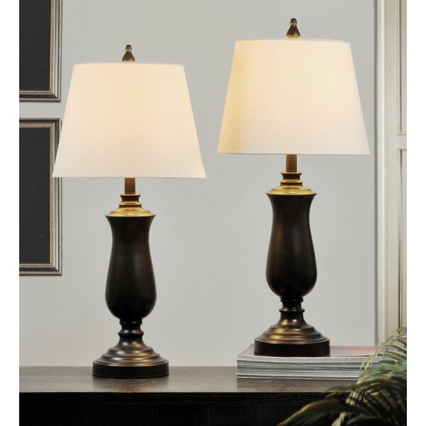 Rossville 28.5 Table Lamp (Set of 2) by Alcott Hill