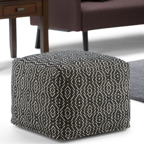 Arland Pouf By Bungalow Rose Cheap