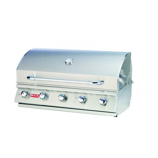 Renegade 5-Burner Built-In Convertible Gas Grill by Bull Outdoor Products