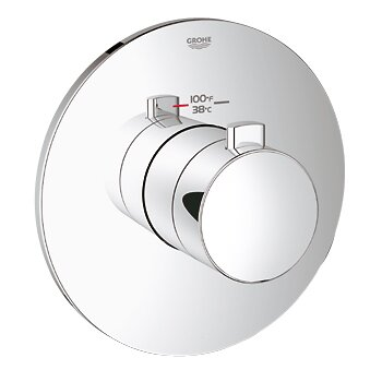 GrohFlex Cosmopolitan Custom Shower Thermostatic Trim with Control Module by Grohe