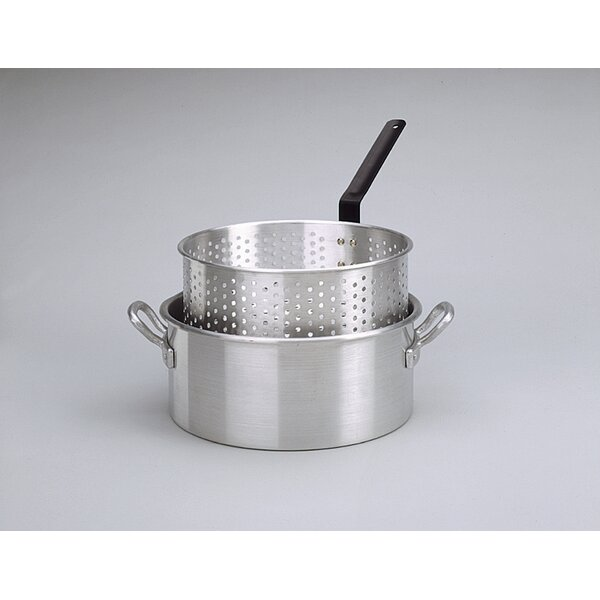 Deep Fryer with Two Helper Handles and Basket by King Kooker