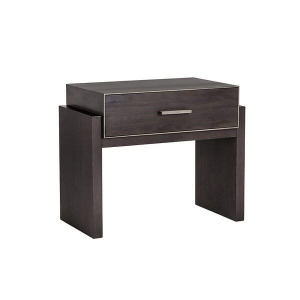 Burdett 1 Drawer Nightstand by Red Barrel Studio
