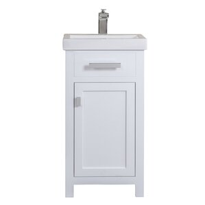 roque 18 single bathroom vanity set 18 inch